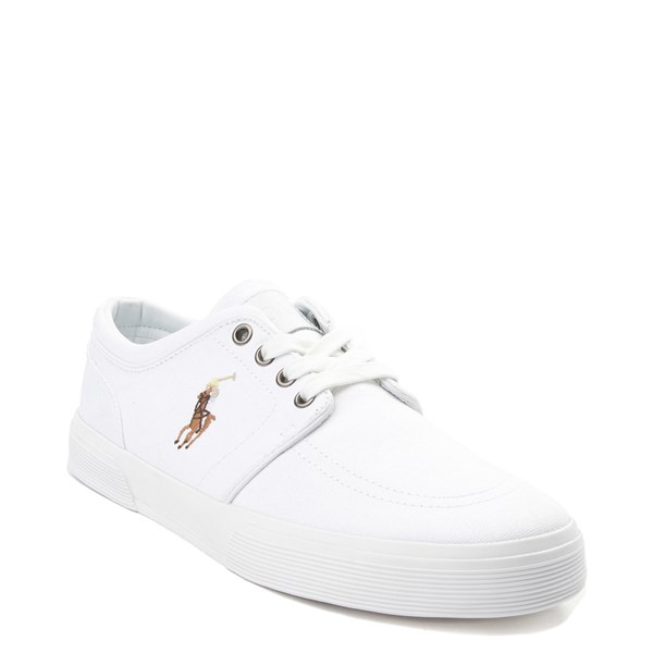 alternate view Mens Faxon Casual Shoe by Polo Ralph Lauren - WhiteALT1