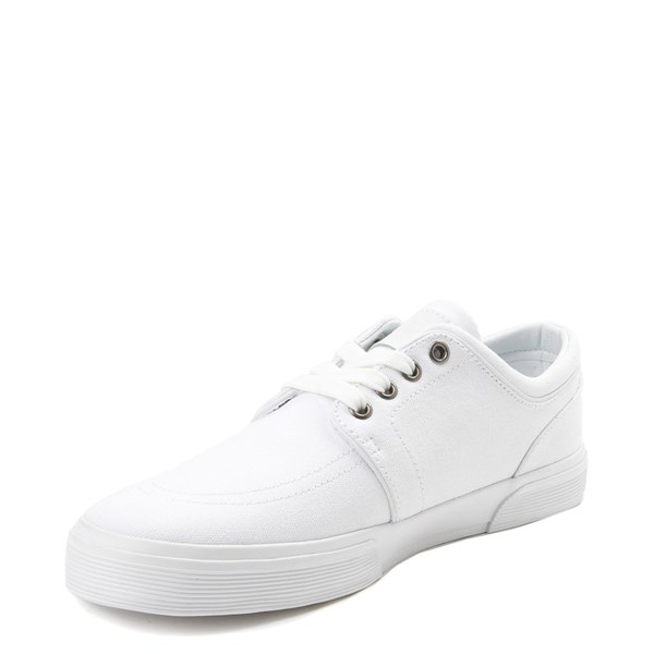 alternate view Mens Faxon Casual Shoe by Polo Ralph Lauren - WhiteALT3