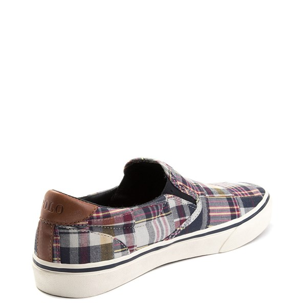alternate view Mens Thompson Patchwork Slip On Casual Shoe by Polo Ralph LaurenALT2