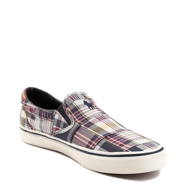alternate view Mens Thompson Patchwork Slip On Casual Shoe by Polo Ralph LaurenALT3