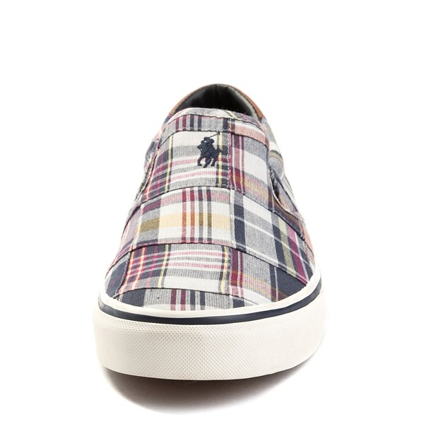 alternate view Mens Thompson Patchwork Slip On Casual Shoe by Polo Ralph LaurenALT4