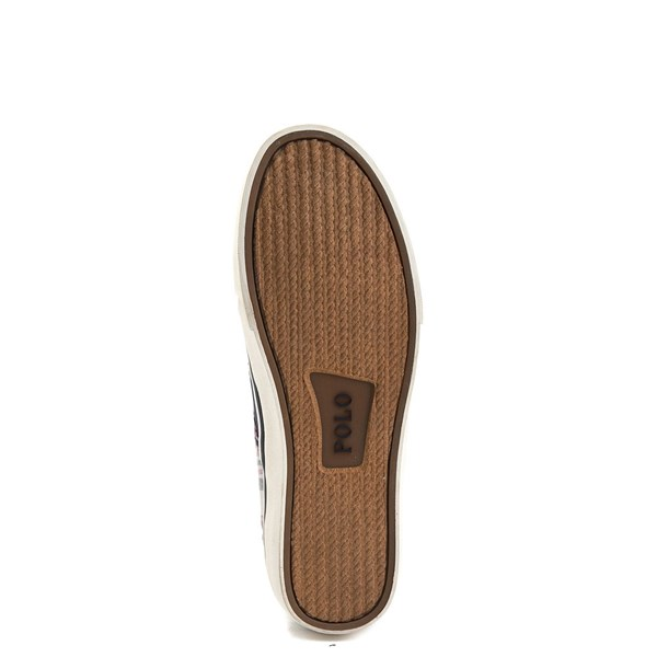 alternate view Mens Thompson Patchwork Slip On Casual Shoe by Polo Ralph LaurenALT5