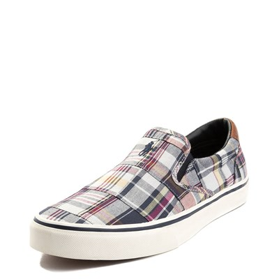 Alternate view of Mens Thompson Patchwork Slip On Casual Shoe by Polo Ralph Lauren