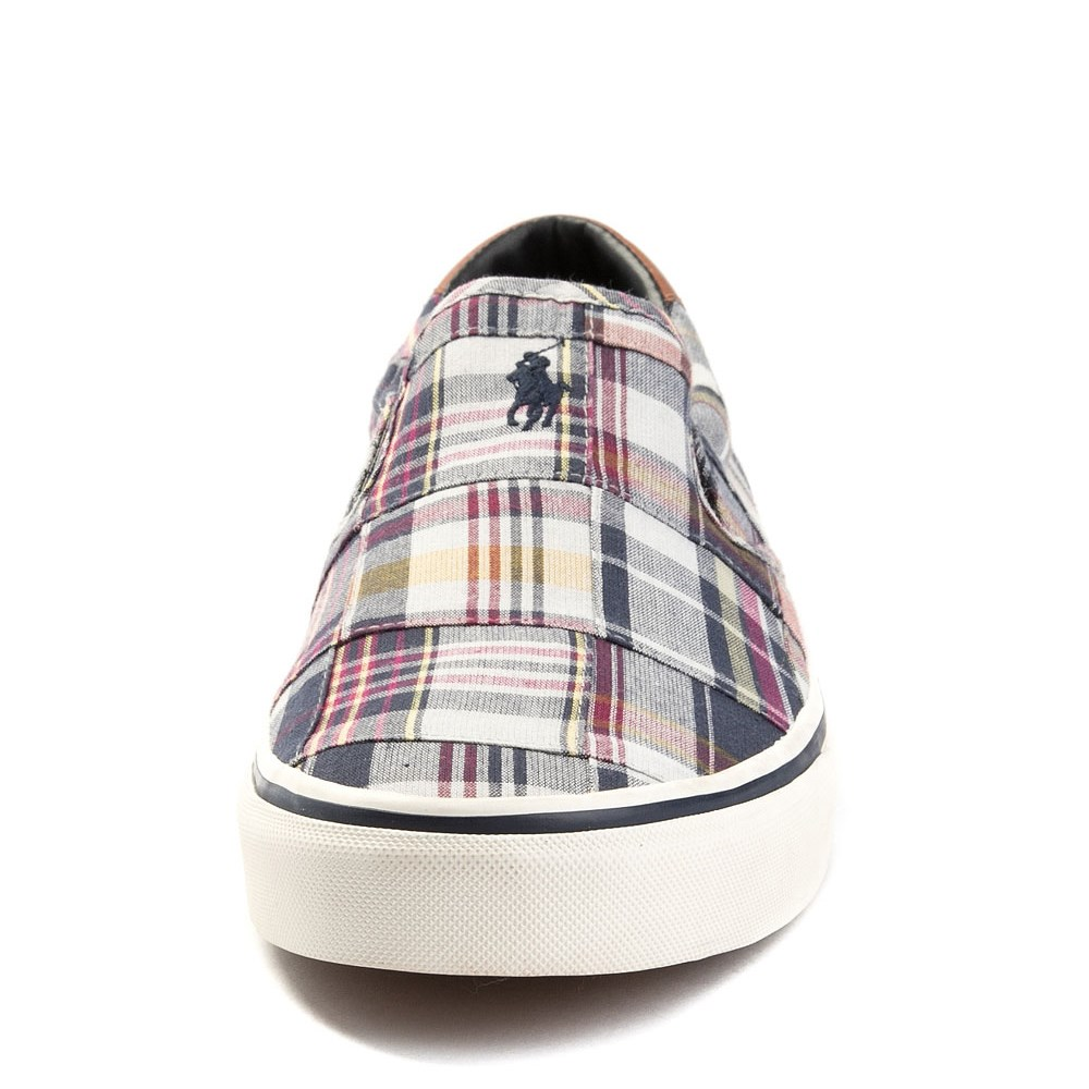 1278ce50 Mens Thompson Patchwork Slip On Casual Shoe by Polo Ralph Lauren