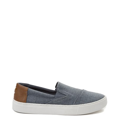 Main view of Mens TOMS Luca Slip On Casual Shoe - Blue
