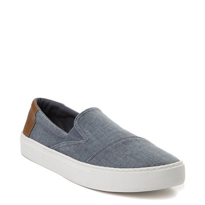 Alternate view of Mens TOMS Luca Slip On Casual Shoe - Blue
