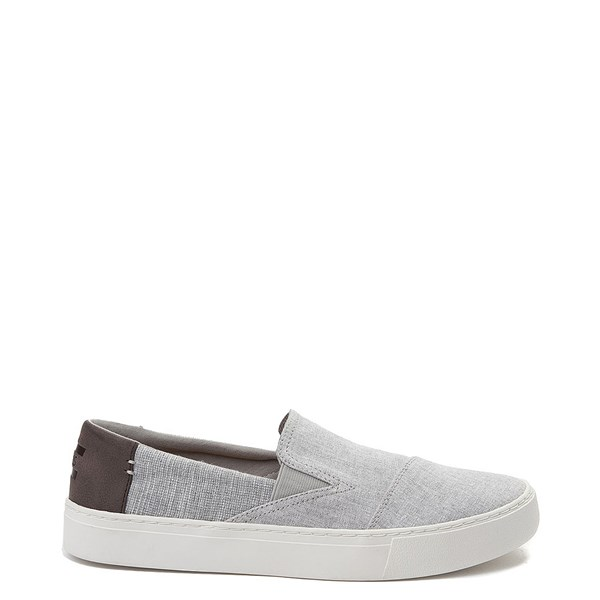 Mens TOMS Luca Slip On Casual Shoe- Gray
