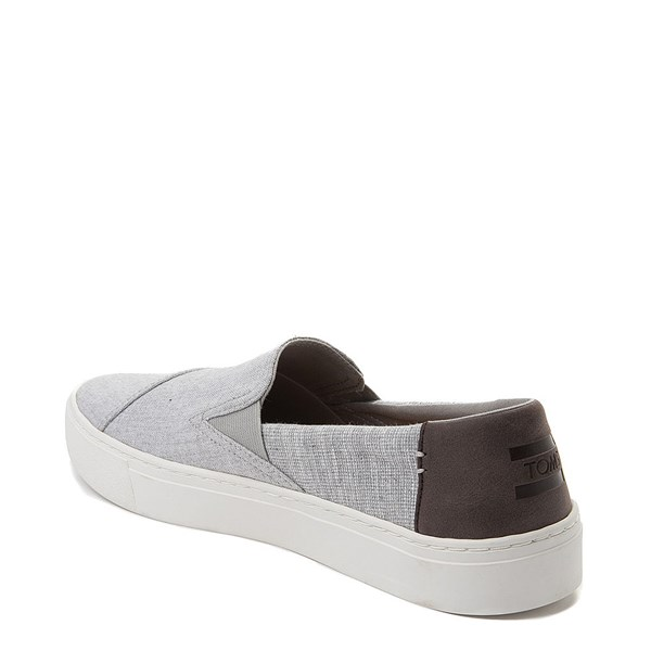 alternate view Mens TOMS Luca Slip On Casual ShoeALT2
