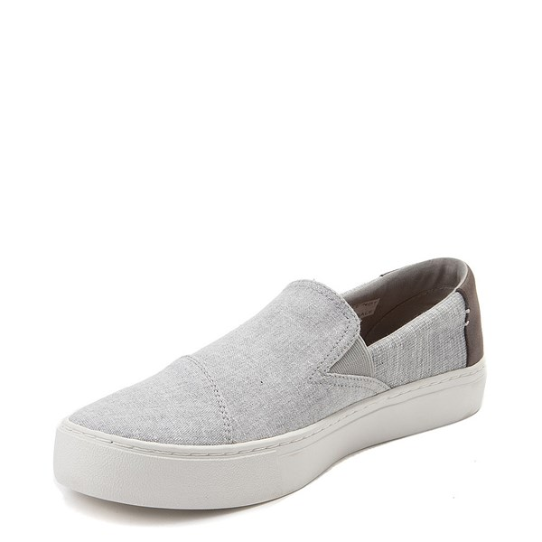 alternate view Mens TOMS Luca Slip On Casual ShoeALT3