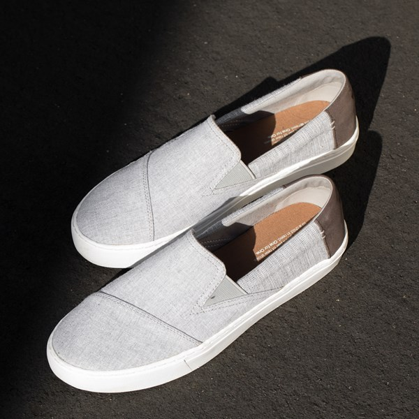 alternate view Mens TOMS Luca Slip On Casual ShoeALT7