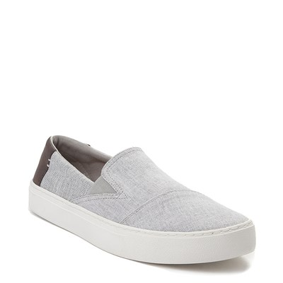Alternate view of Mens TOMS Luca Slip On Casual Shoe- Gray