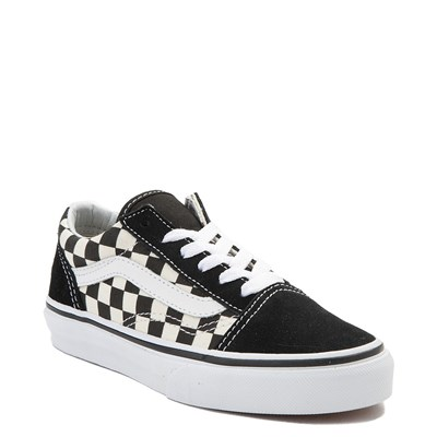 Vans Old Skool Chex Skate Shoe - Little Kid 4a621bb5d