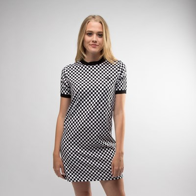 Main view of Womens Vans High Roller Checkered Dress