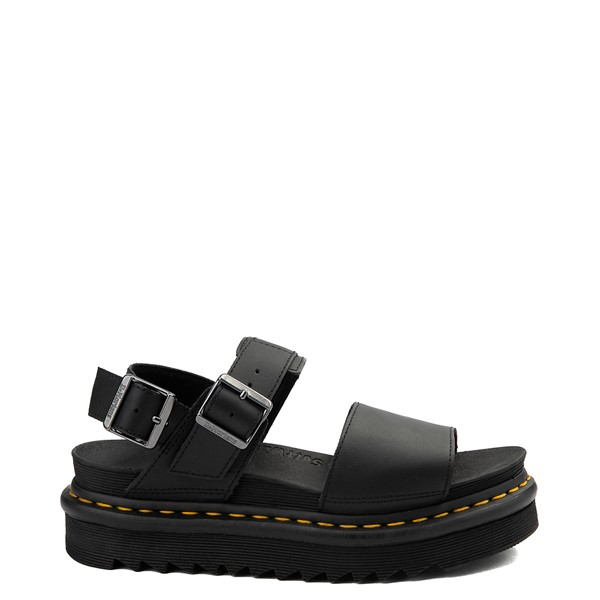 Main view of Womens Dr. Martens Voss Sandal - Black