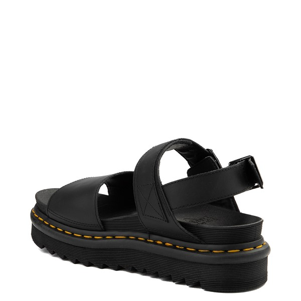 alternate view Womens Dr. Martens Voss Sandal - BlackALT1