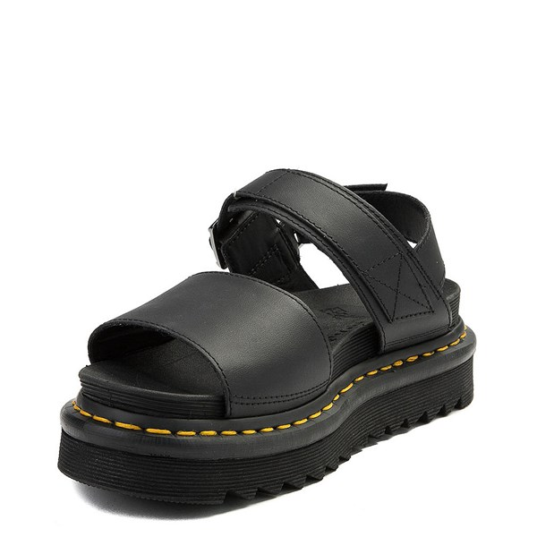 alternate view Womens Dr. Martens Voss Sandal - BlackALT3
