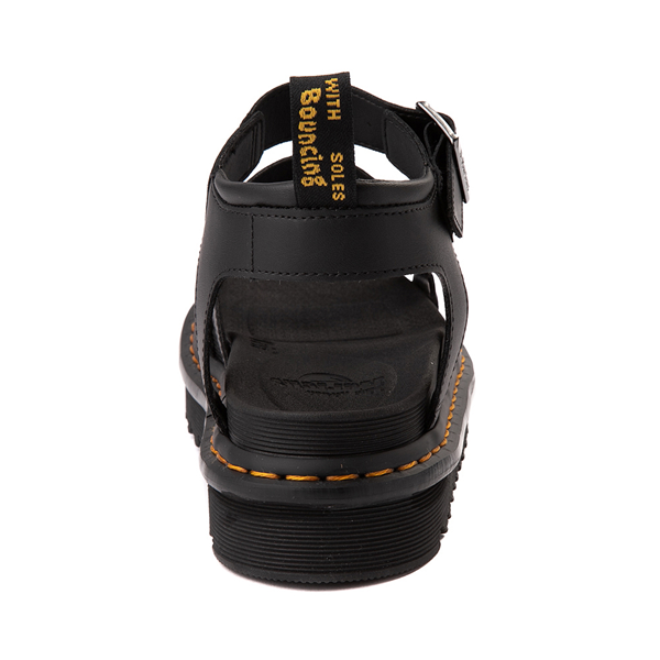 alternate view Womens Dr. Martens Blaire Sandal - BlackALT4