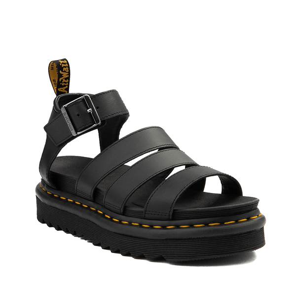 alternate view Womens Dr. Martens Blaire Sandal - BlackALT5