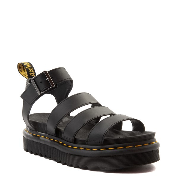 alternate view Womens Dr. Martens Blaire Sandal - BlackALT1