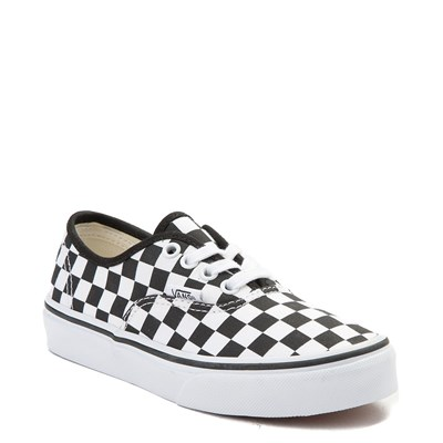 Alternate view of Youth Vans Authentic Chex Skate Shoe