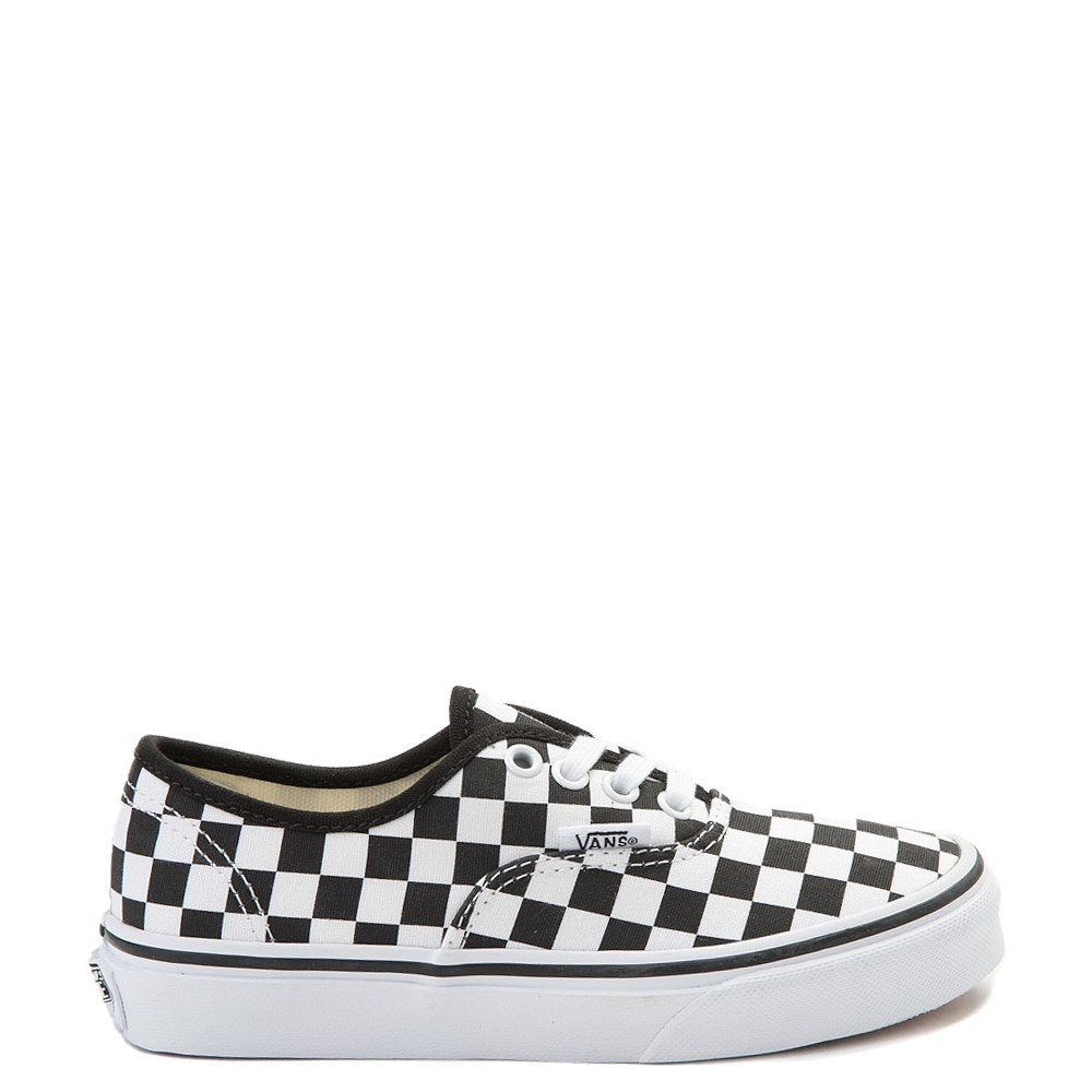 Youth Vans Authentic Chex Skate Shoe