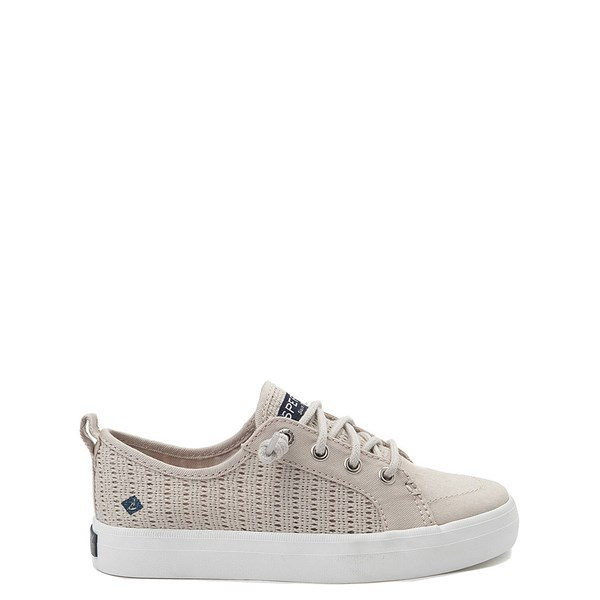 Default view of Sperry Top-Sider Crest Vibe Casual Shoe - Little Kid / Big Kid - Stone