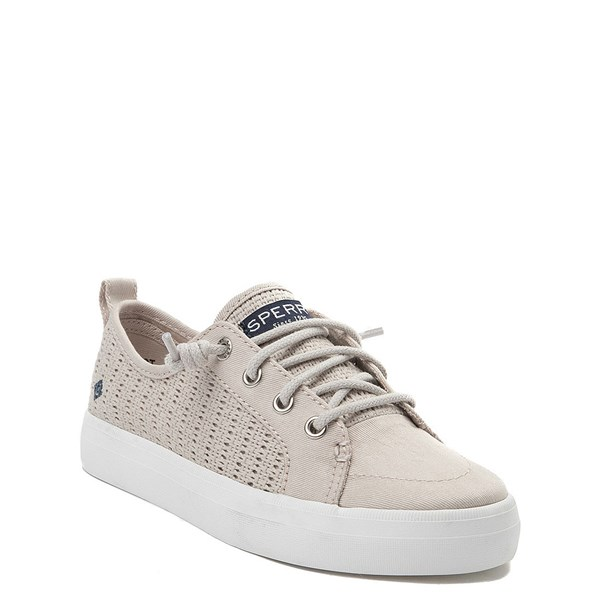 alternate view Sperry Top-Sider Crest Vibe Casual Shoe - Little Kid / Big Kid - StoneALT1