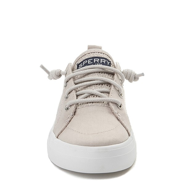 alternate view Sperry Top-Sider Crest Vibe Casual Shoe - Little Kid / Big Kid - StoneALT4