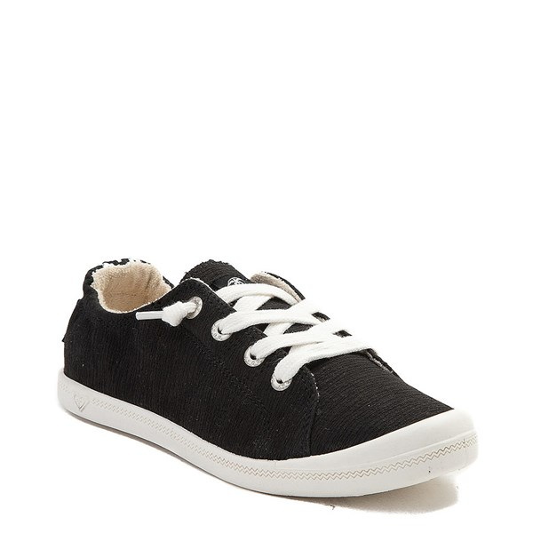 alternate view Womens Roxy Bayshore Casual Shoe - BlackALT1