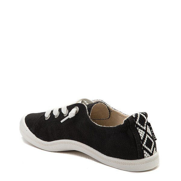 alternate view Womens Roxy Bayshore Casual Shoe - BlackALT2