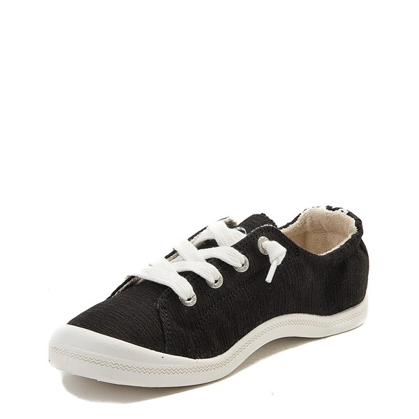 alternate view Womens Roxy Bayshore Casual Shoe - BlackALT3