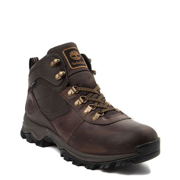 alternate view Mens Timberland Mt. Maddsen Hiker Boot - Dark BrownALT1