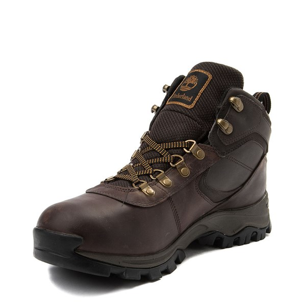 alternate view Mens Timberland Mt. Maddsen Hiker Boot - Dark BrownALT3
