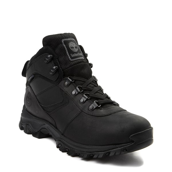 alternate view Mens Timberland Mt. Maddsen Hiker Boot - BlackALT1
