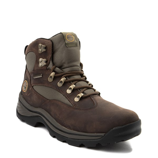 alternate view Mens Timberland Chocorua Trail Mid Hiker Boot - BrownALT1