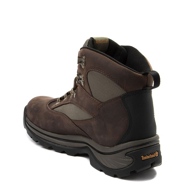 alternate view Mens Timberland Chocorua Trail Mid Hiker Boot - BrownALT2