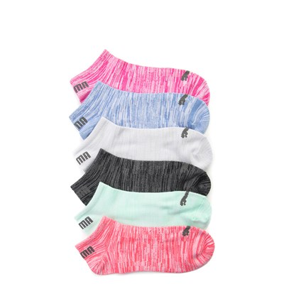 Womens Puma Low Cut Space Dyed Socks 6 Pack