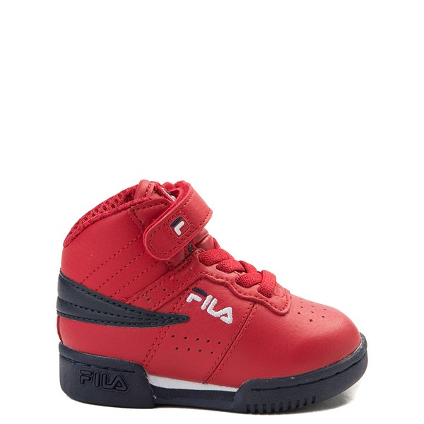 Fila F-13 Athletic Shoe - Baby / Toddler - Red / White / Navy