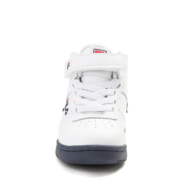 alternate view Fila F-13 Athletic Shoe - Baby / Toddler - White / Navy / RedALT4