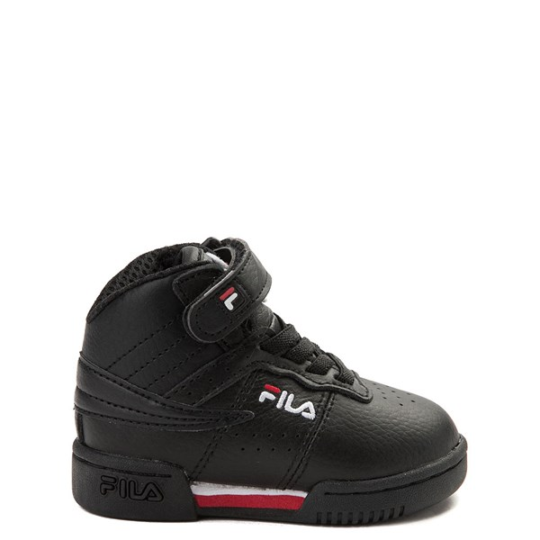 Fila F-13 Athletic Shoe - Baby / Toddler - Black / White / Red