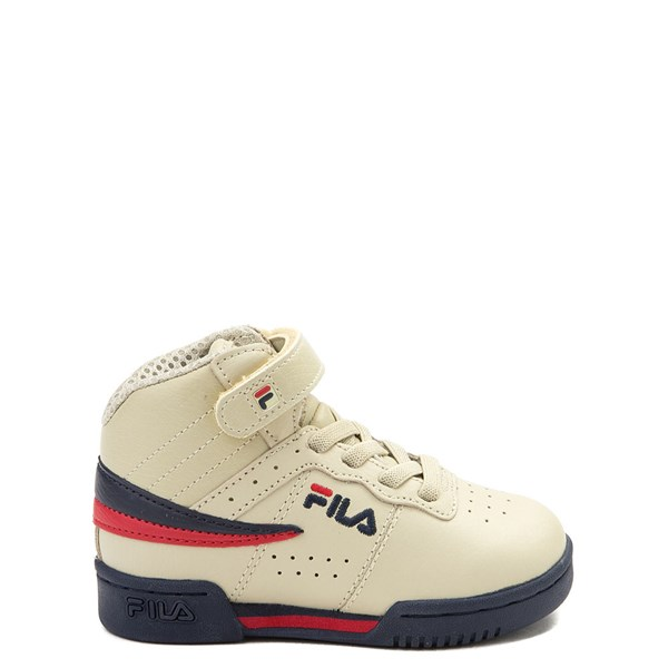 Fila F-13 Athletic Shoe - Baby / Toddler - Beige / Navy / Red