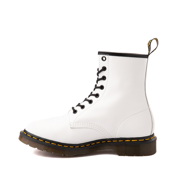 alternate view Womens Dr. Martens 1460 8-Eye Boot - WhiteALT1