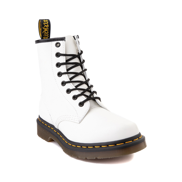 alternate view Womens Dr. Martens 1460 8-Eye Boot - WhiteALT5