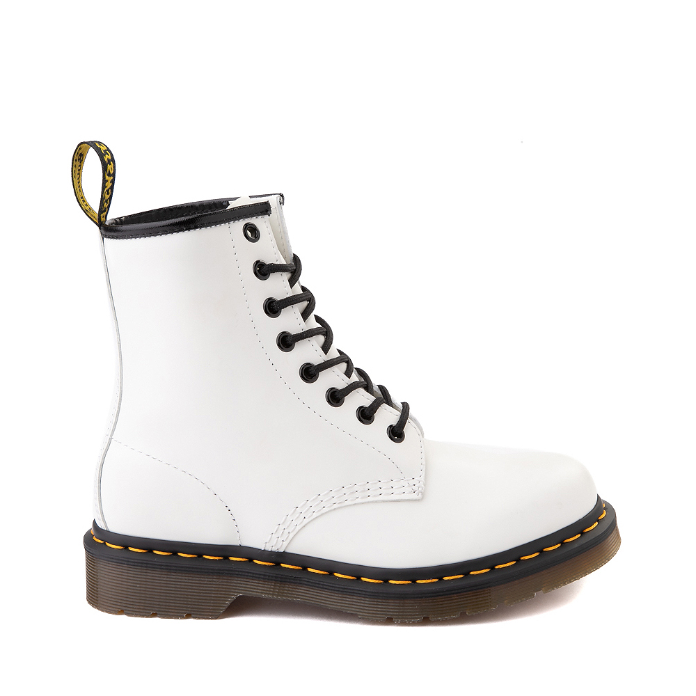Womens Dr. Martens 1460 8-Eye Boot - White