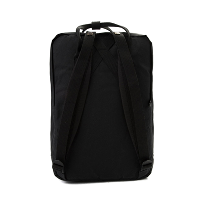 Alternate view of Fjallraven Kanken 15 Laptop Backpack - Black