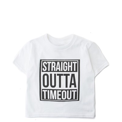 Main view of Toddler Straight Outta Timeout Tee