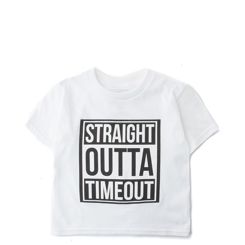 Straight Outta Timeout Tee - Toddler