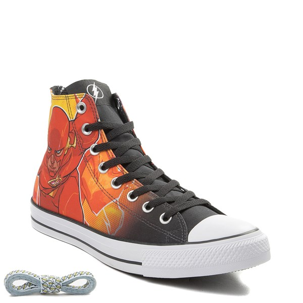 alternate view Converse Chuck Taylor All Star Hi DC Comics Flash SneakerALT1B