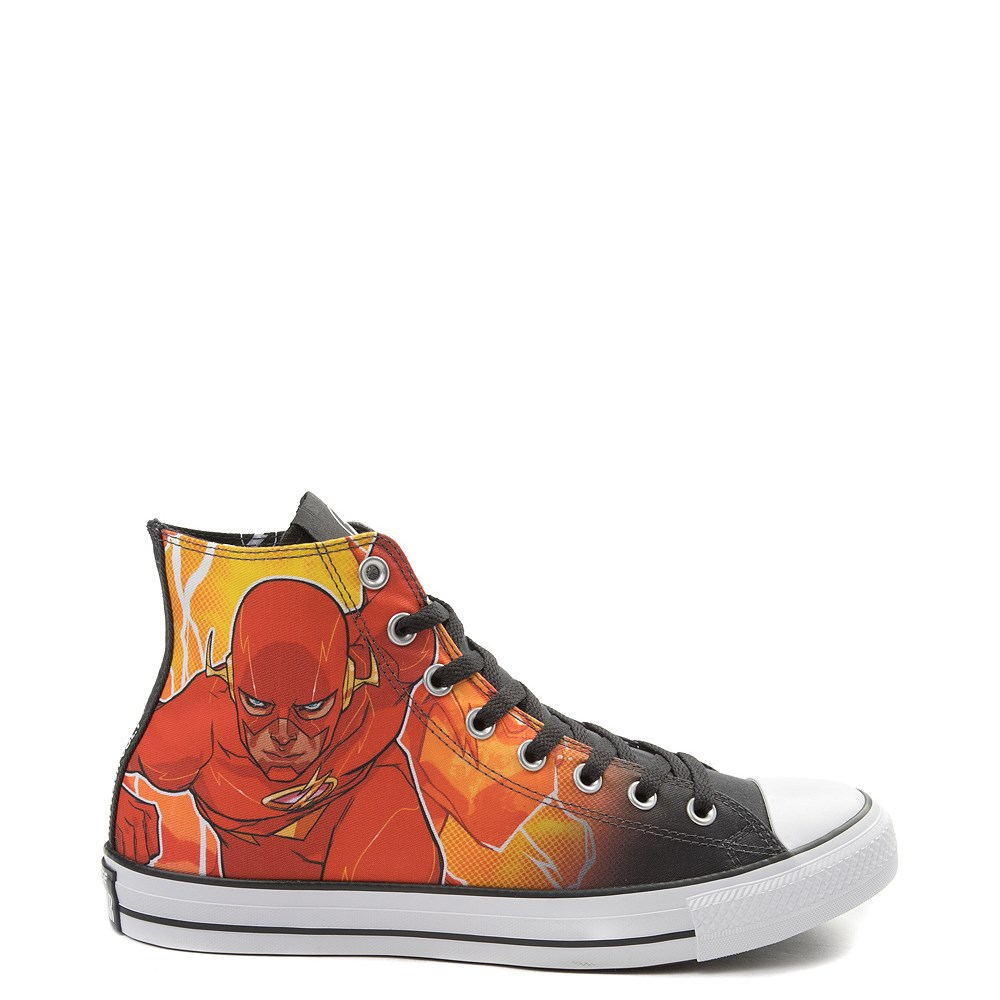 fdd6c1bffca901 Converse Chuck Taylor All Star Hi DC Comics Flash Sneaker