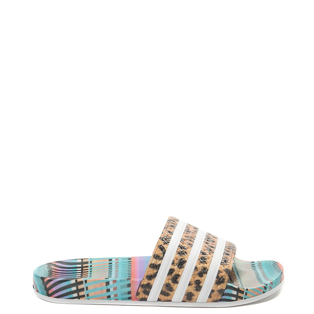 f21668123338 Womens adidas x FARM Adilette Slide Sandal. Previous. alternate image ALT5.  alternate image default view